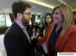 Νικήτρια η Φώφη Γεννηματά στην αναμέτρηση για την εκλογή του επικεφαλής της Κεντροαριστεράς