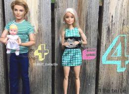 Η Barbie τώρα και millennial μαμά: Εικόνες βγαλμένες μέσα από τη ζωή