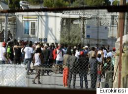 «Νεκρωμένη» η Λέσβος από την απεργία για την τακτοποίηση του θέματος των μεταναστών