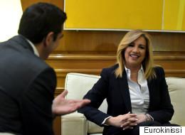 Τσίπρας: Ελπίζω η εκλογή της Φ. Γεννηματά να συμβάλει στον διάλογο μεταξύ των προοδευτικών δυνάμεων