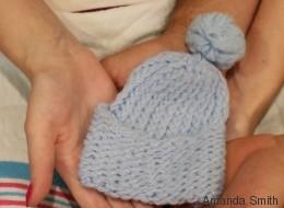 An die Hebamme, die bei der Geburt meines Baby an meiner Seite war - und bei seinem Tod