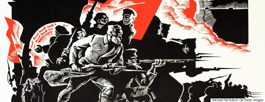 bolshevik revolution posters