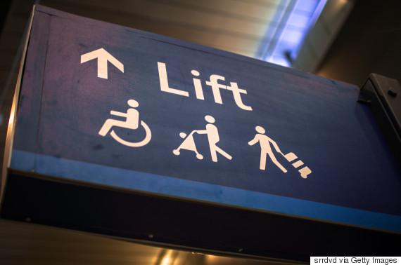 handicapped lift