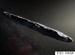 외계에서 온 첫 '인터스텔라 소행성'의 모습