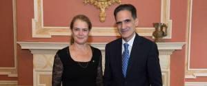 Julie Payette Dimitris Azemopoulos