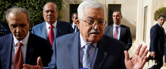 THE PALESTINIAN PRESIDENT