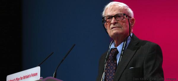 Harry Leslie Smith ist 94 Jahre alt - und will vor seinem Tod noch eine Mission erfüllen