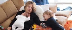 Wochenbett Mama Kinder
