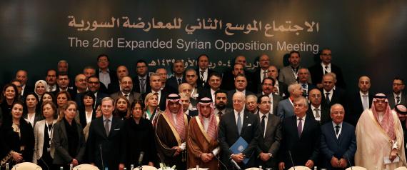 SYRIAN OPPOSITION MEETING IN RIYADH
