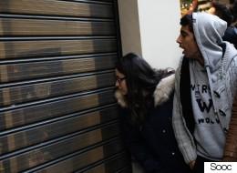 Η Black Friday σε φωτογραφίες: Κοσμοσυρροή στα καταστήματα