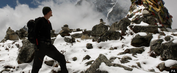 WALKING WITH THE WOUNDED EVEREST