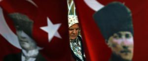 Turkish Flag Kemal Ataturk