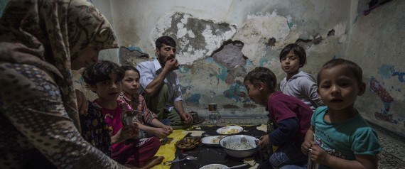 SYRIANS LIVING IN DILAPIDATED HOUSES