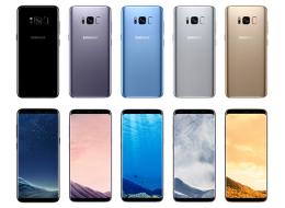 Samsung Galaxy S8 تضم لون سادس إلى مجموعتها