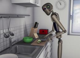 سيحرمك من حماسة اختراع وصفة جديدة لكنه سيعلم بوجود ضيف إضافي.. هذا شكل مطبخ المستقبل الذكي