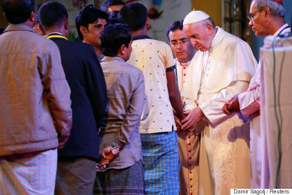 pope rohingya