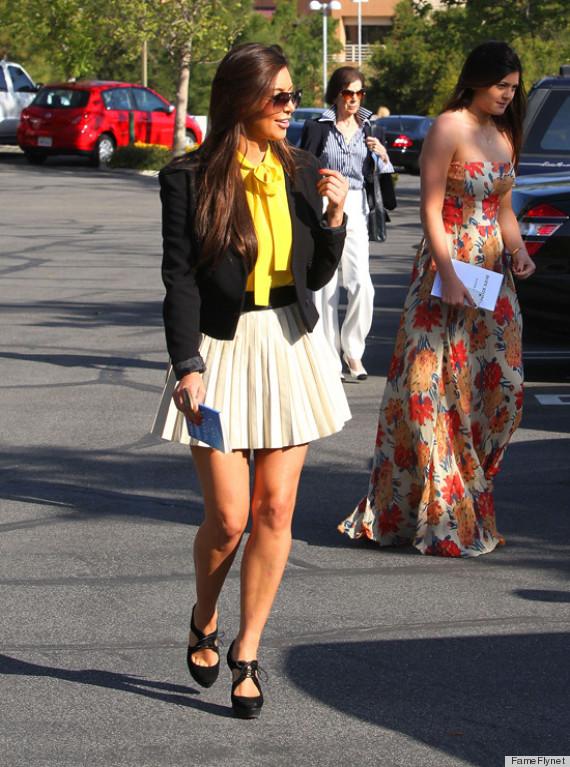 kim kardashian easter outfit