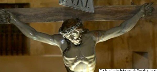 예수 조각품에서 240년 된 비밀이 발견됐다(영상)