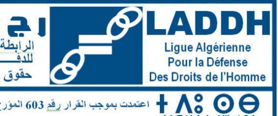 LIGUE ALGERIENNE DROITS DE LHOMME