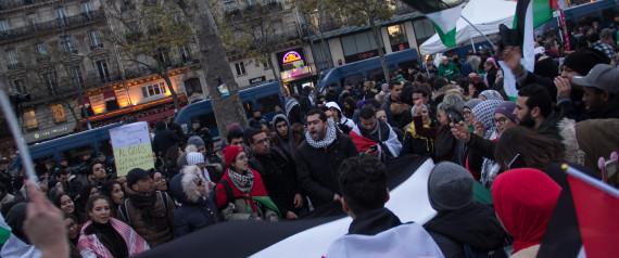 FRANCE PALESTINE DEMONSTRATIONS