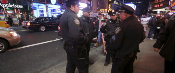 POLICE TIMES SQUARE