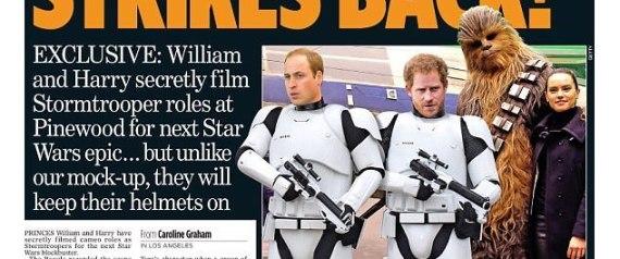 الأميران هاري ووليام شاركا في أشهر أفلام الخيال العلمي في تاريخ السينما سراً.. أحدهما ضرب  N-PIC-large570