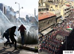 الأردن ينتفض ومواجهات بالضفة وغزة لأجل القدس.. وأردوغان يعلن عن خطوته لإبطال قرار ترامب