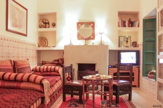 Voici le airbnb le plus convoit au maroc par les for Airbnb marrakech