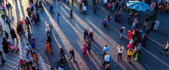 MOROCCO PEOPLE STREET