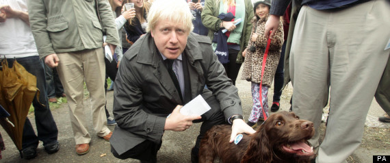 BORIS JOHNSON LAUNCH ELECTION