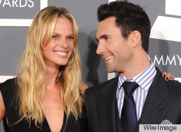 Adam Levine Anne V Split