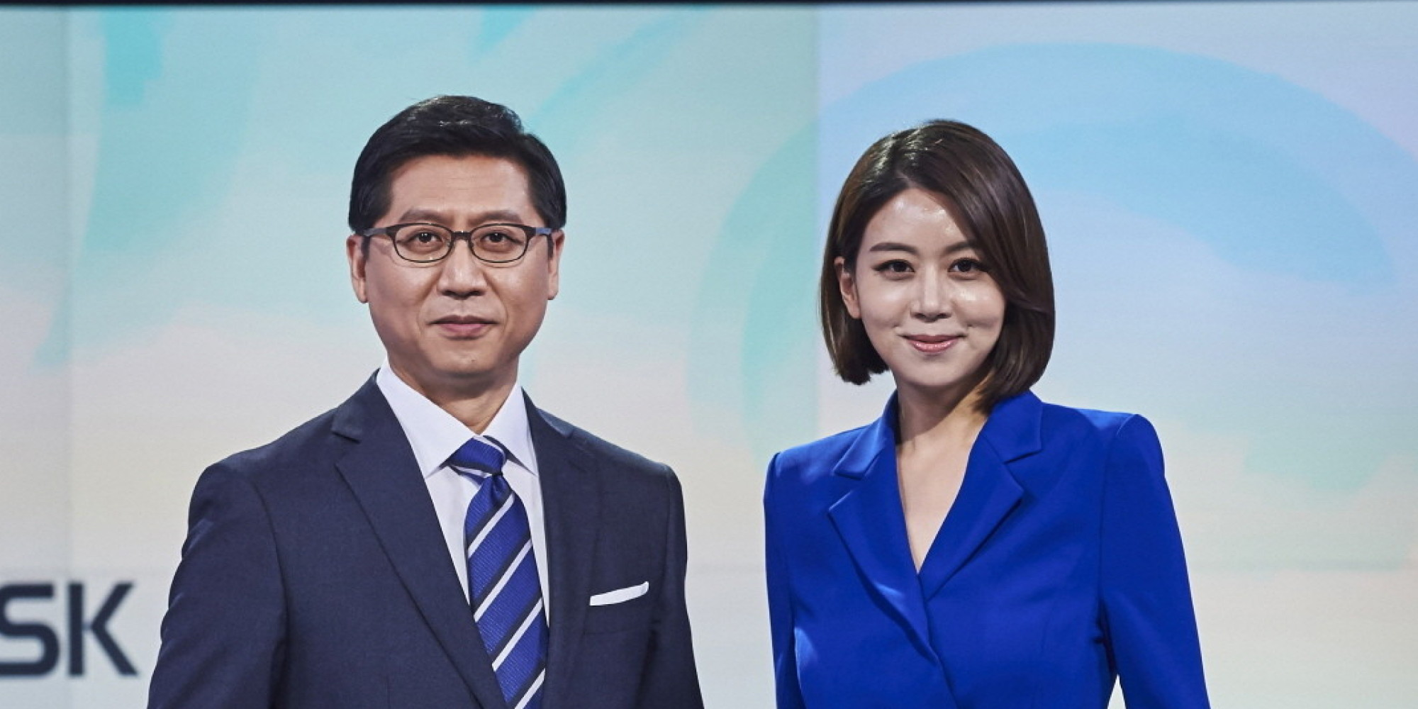 A Press Conference Was Held At Mbc News Desk M Lounge In Sangam Dong Mapo Gu Seoul On This Day Park Sung Ho Sohn Jung Eun