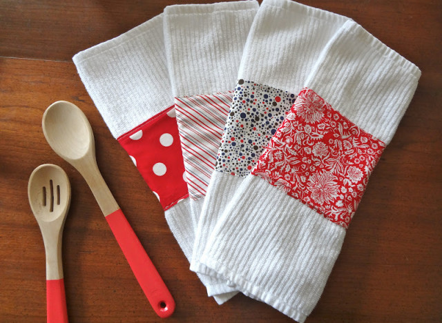 Craft of the day make embellished dishtowels huffpost