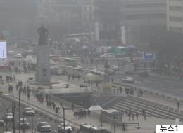 성탄절 연휴의 '미세먼지'에 대한 정부의 진단