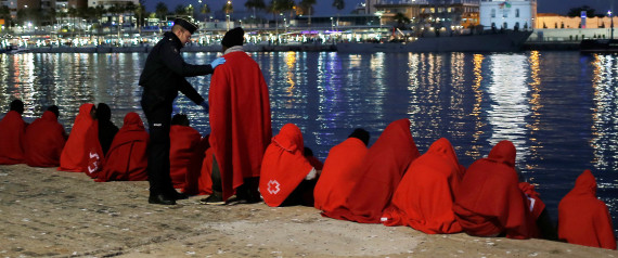 MIGRANTS BOAT SPAIN
