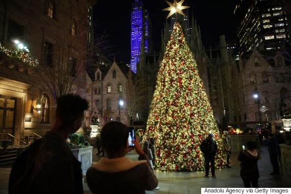 christmas tree new york