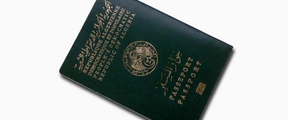 PASSPORT ALGERIA
