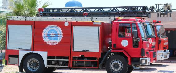 FIREFIGHTERS TURKEY