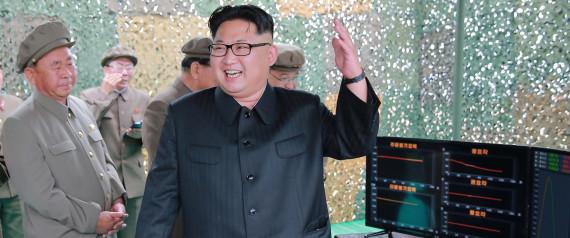 KIM JONG UN SMILE