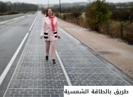 يشحن السيارات ويذيب الجليد ويصدّر الكهرباء الزائدة.. الصين تفتتح أول طريق سريع يعمل بالطاقة الشمسية