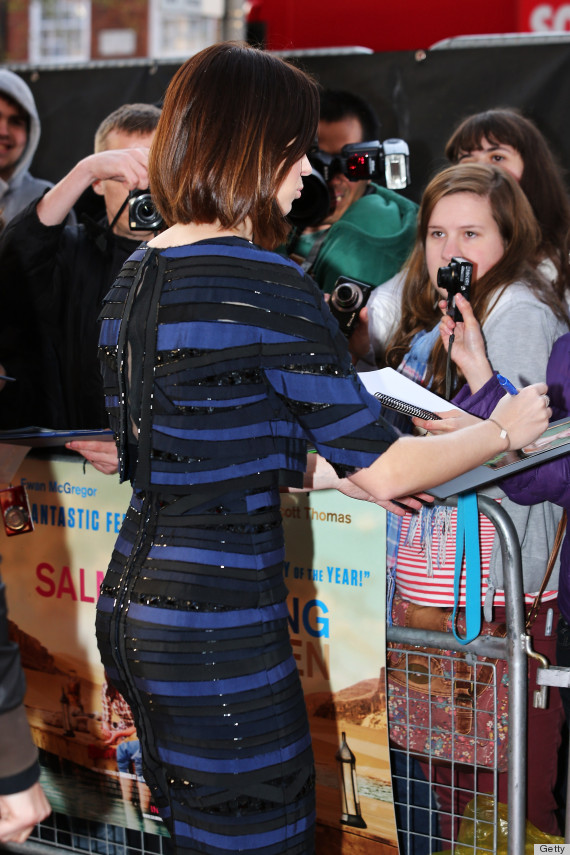 Emily Blunt Backwards Jacket Confuses Us Photos Poll