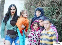 إذا كنت تريد مساعدة الفقراء فلا تحتاج إلى بنطال ممزق أو مكياج خاص أو استغاثة المفتي.. لكن هذا ما فعلته الممثلة السورية رنا الأبيض