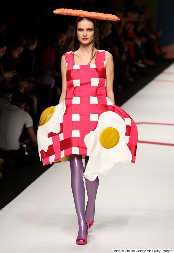 weird fashion runway