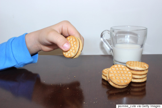 tea with biscuits child