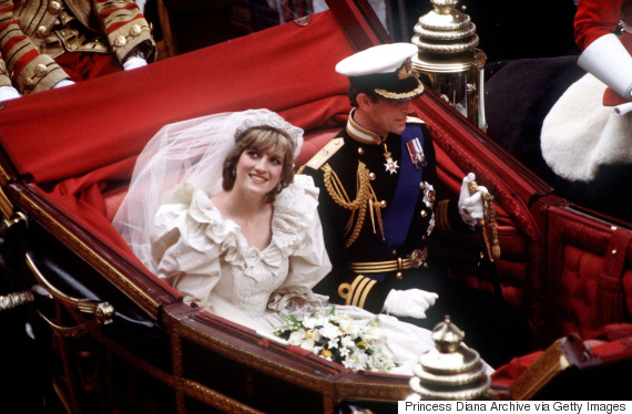 wedding of prince charles and diana