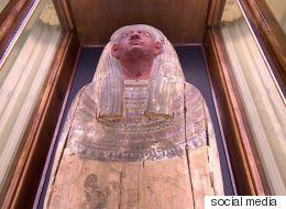 مومياء مصرية تقبع داخل قلعة في بريطانيا