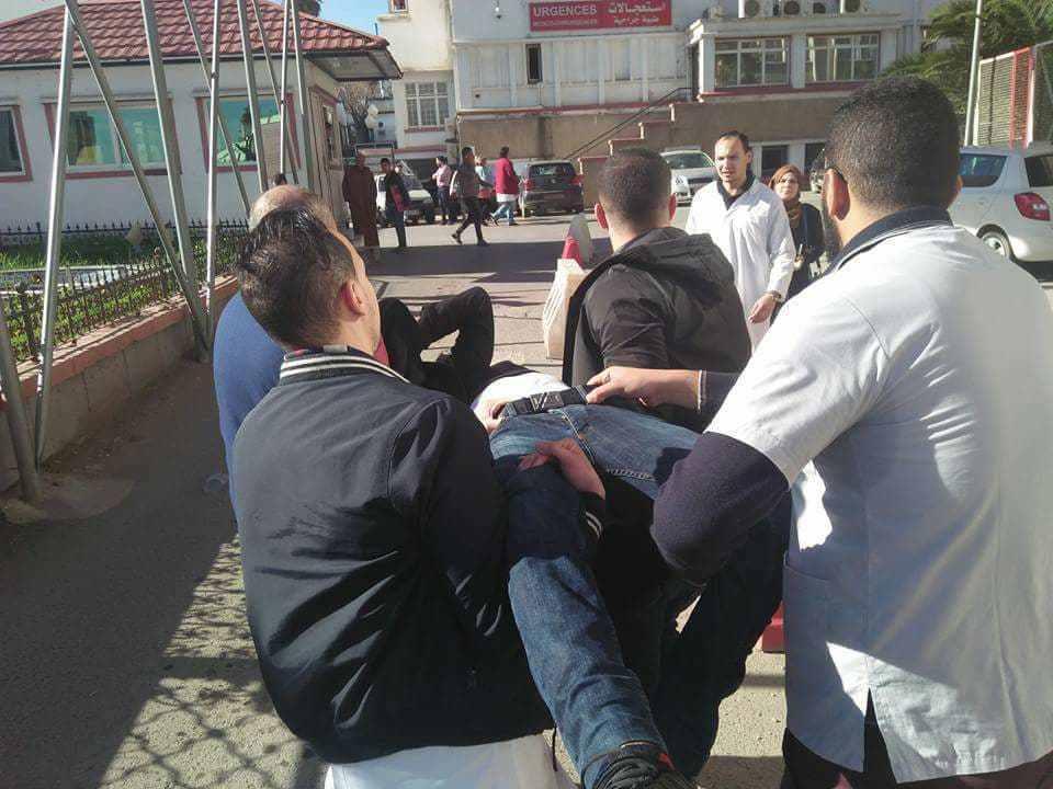 médecins blessés