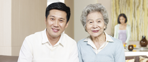 TAIWANESE OLD MOTHER SON