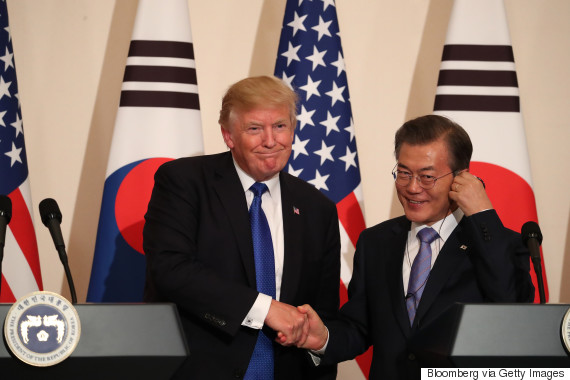 trump moon jae in