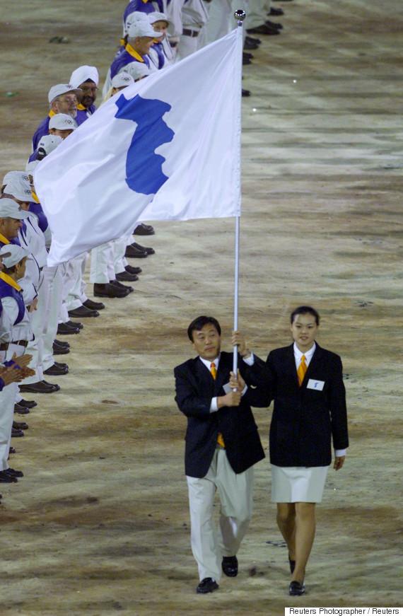 united korea olympic march